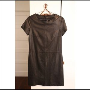 Zadig & Voltaire Leather Dress Size Small
